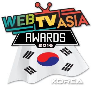 WebTVAsia awards korea logo